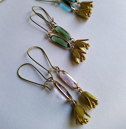 Snowdrop earrings.