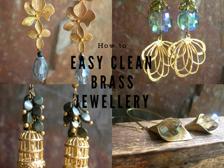 Easy ways to take care of your brass jewellery