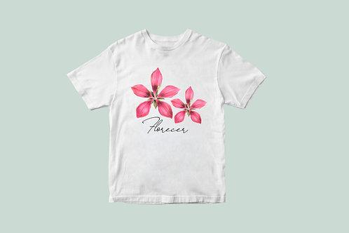 Camiseta Florecer