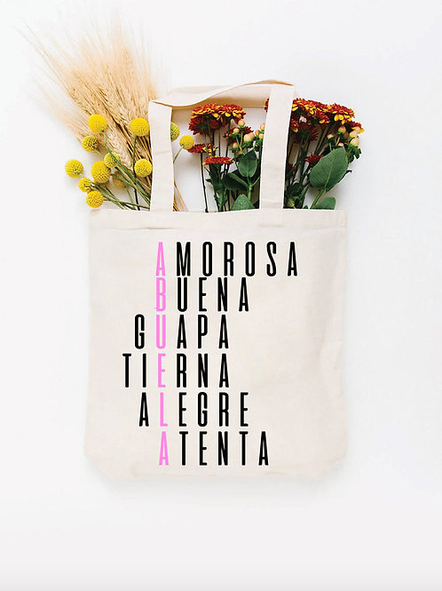 Bolsa Totebag ABUELA