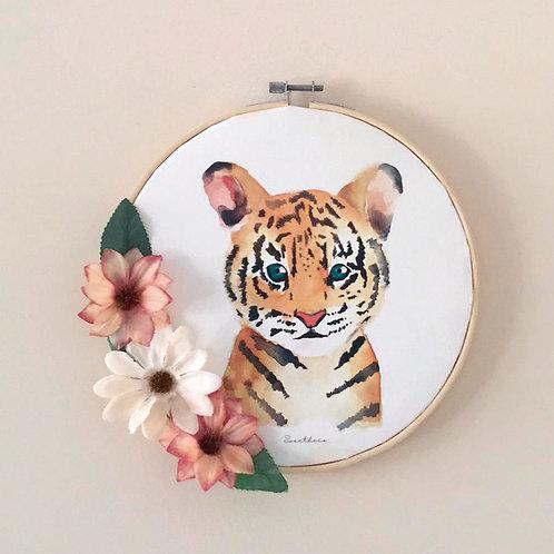 Bastidor Decoración Tigre