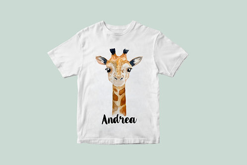 Camiseta Jirafita