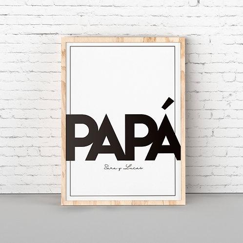 Lamina papá