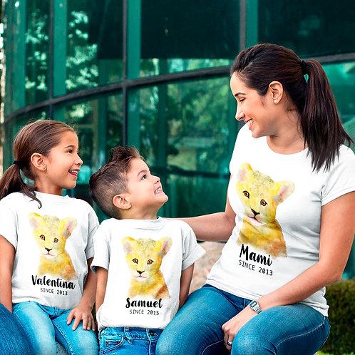 Pack Camisetas Mama + 2 camisetas niños o body