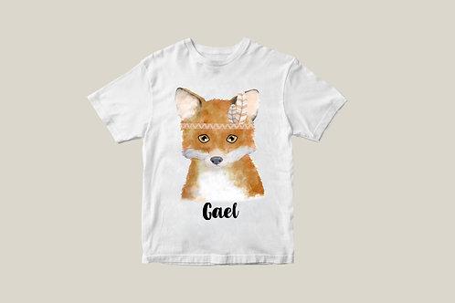 Camiseta Zorrito Indio