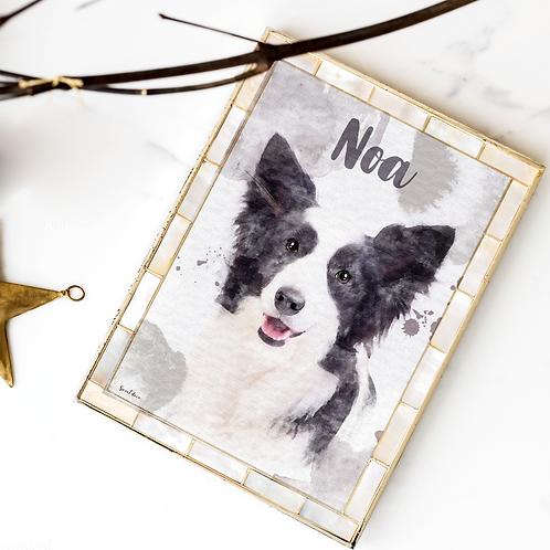 Retrato personalizado de tu mascota