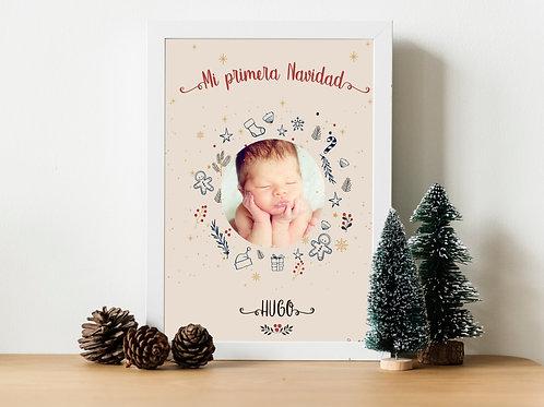Lamina Mi primera Navidad