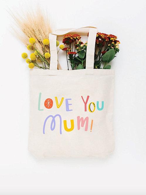 Bolsa Totebag Love you Mum