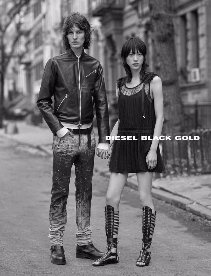 AKOS: DIESEL BLACK GOLD SS17 CAMPAIGN