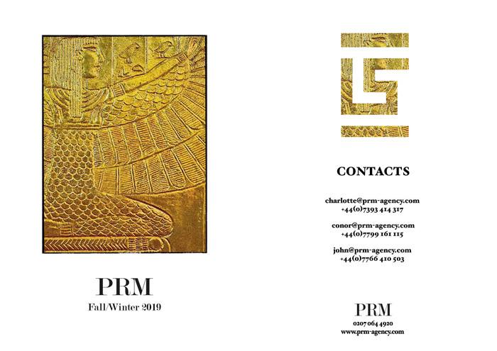 PRM FW 19 SHOW PACKAGE