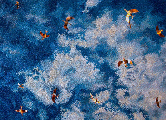 Flock of Clouds