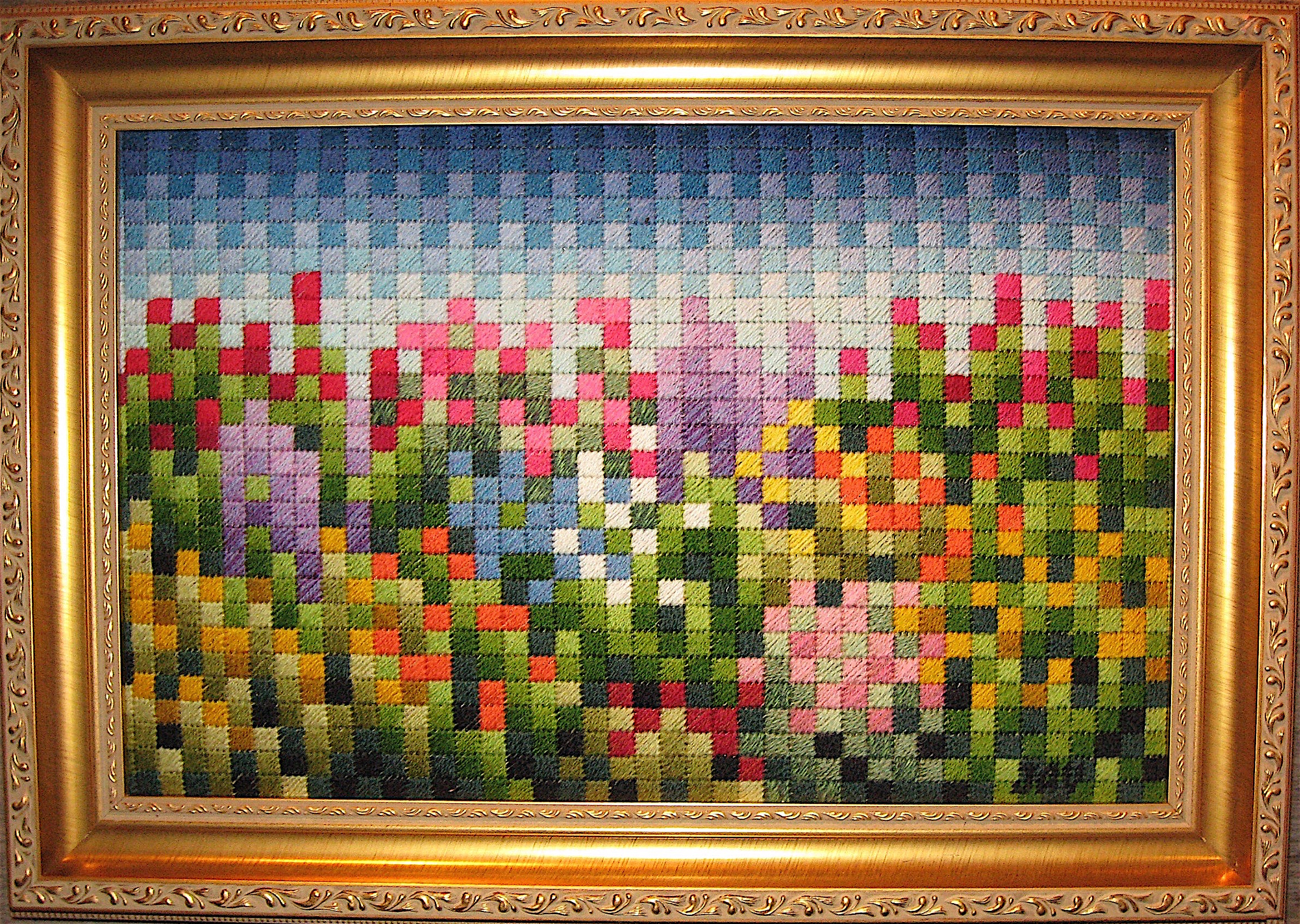 Pixelated Garden