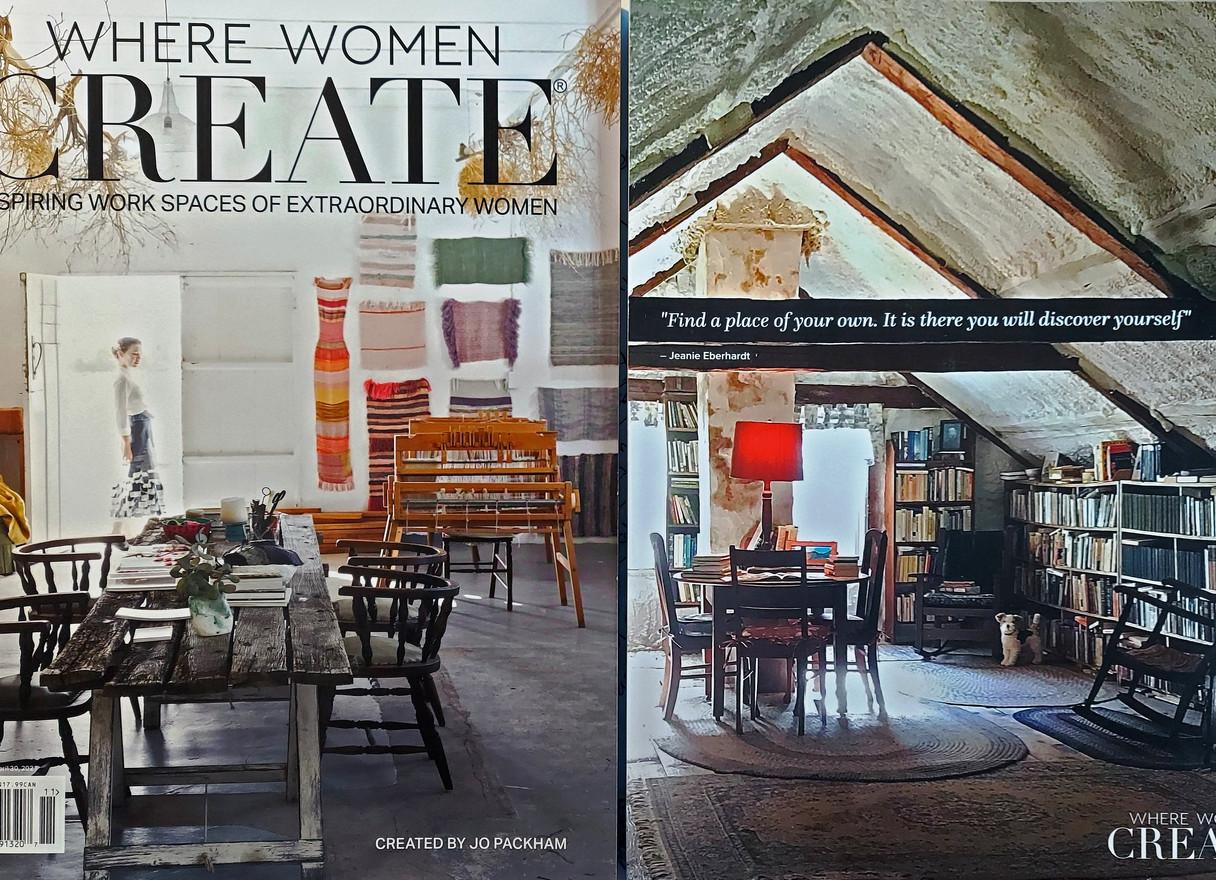 Where Women Create covers