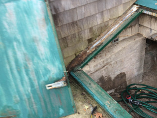 Replacing Rot in Bulkhead with KOMA