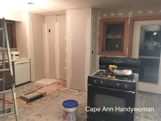 Before & After: Plaster, Prime & Paint (repeat)