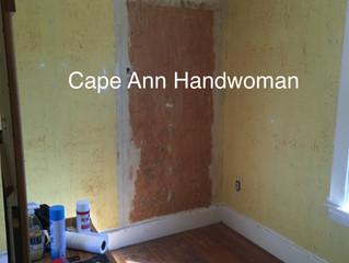 Restoring old walls - custom plastering