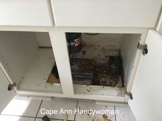 Rebuilding Sink Cabinet Base