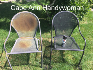 Flat Black Spray Paint from Ace Hardware