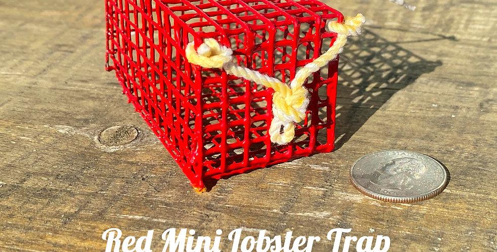 Red Mini Lobster Trap