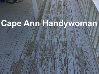 Deck#1 - Repainting a Covered Deck