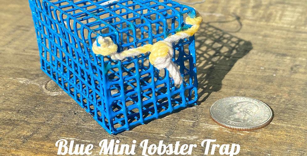 Blue Mini Lobster Trap