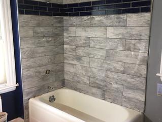 My Bath Tub Tile Reno -Day 4