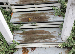 Replacing Rotten Stairs