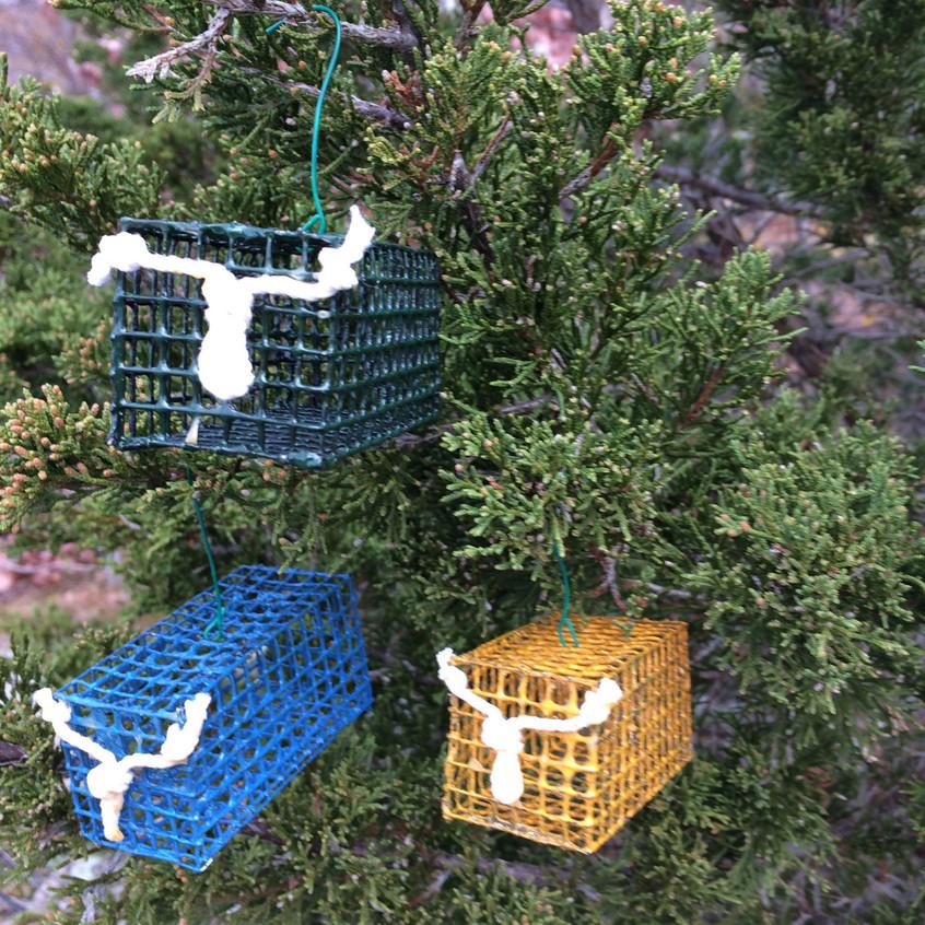Lobster Trap Ornaments