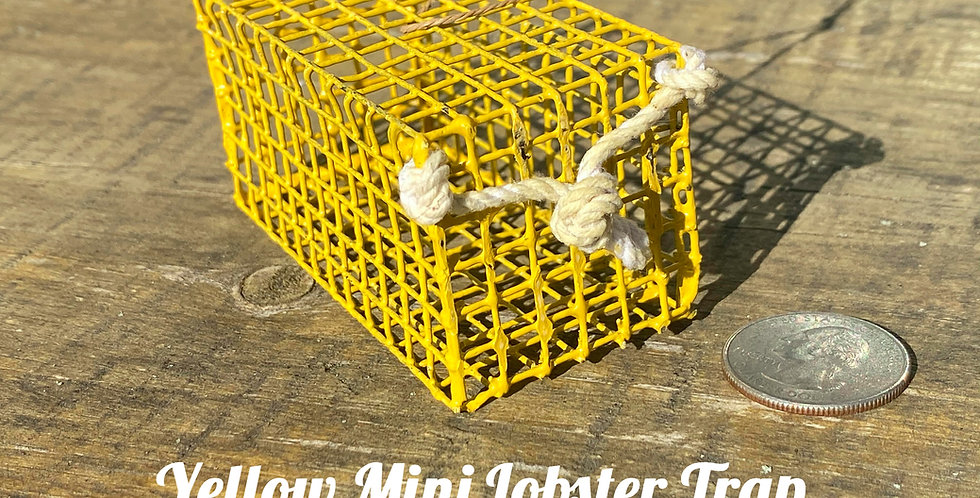 Yellow Mini Lobster Trap