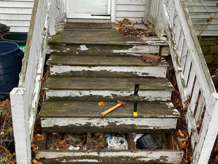 Rebuilding Front Stairs