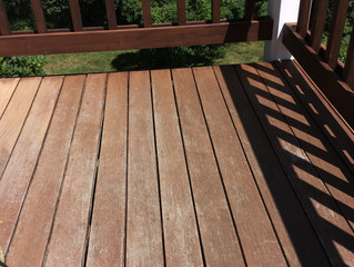 Refinishing a Deck