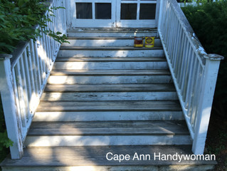 Back in the Saddle Again: Restoring Old Stairs (and my ankle?)