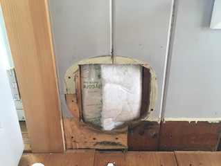 Removing a Cat Door