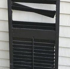 Restoring Old Shutters
