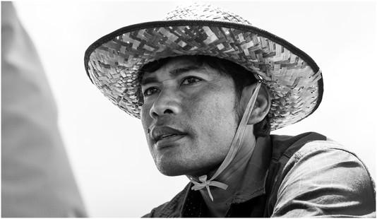 Cambodian man
