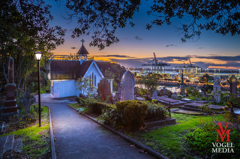 Original church in Parnell...