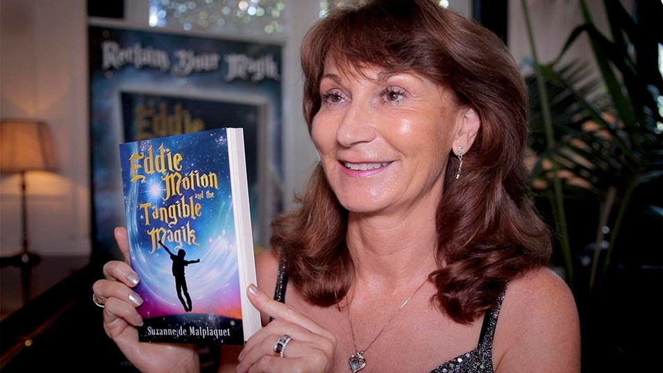 Book launch for Eddie Motion and the Tangible Magik