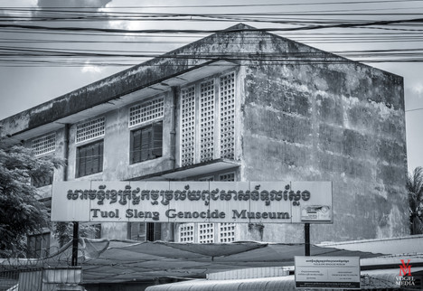 Tuol Sleng Genocide Museum...