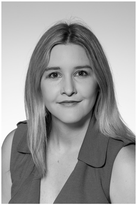 Black and white corporate portrait by Auckland photographer Kirk Vogel