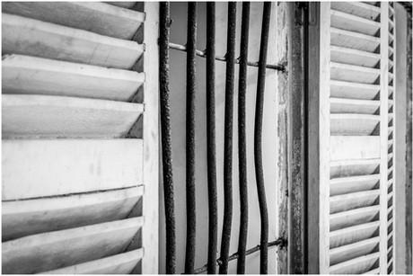 Bars on the windows