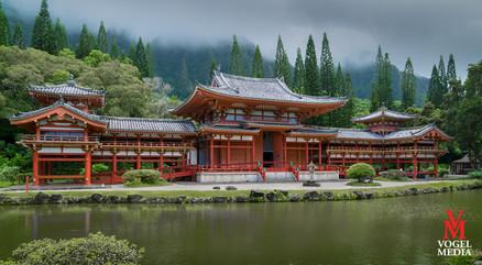 Byodo-In temple...