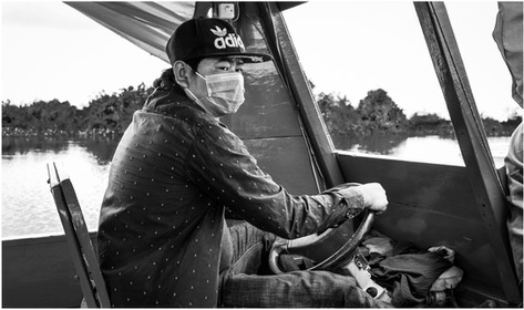River boat driver