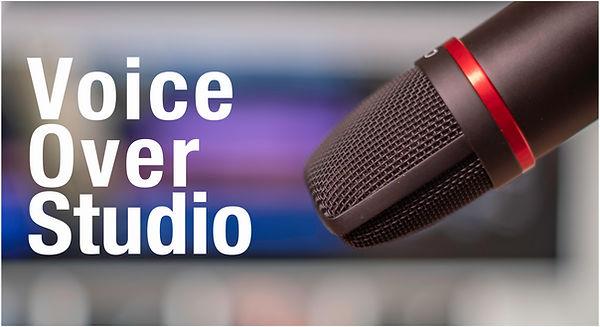 voice over microphone in Auckland recording studio