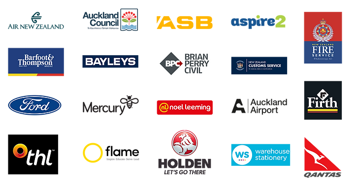 Some of the New Zealand company and brands we have worked with over the years