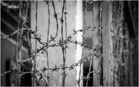 Barbed wire, S21, Phnom Penh
