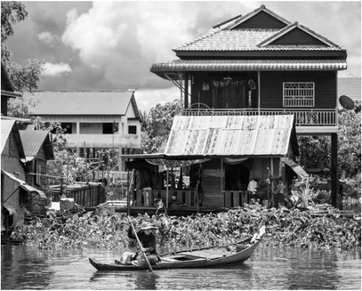 The simple life, Central Cambodia riverways
