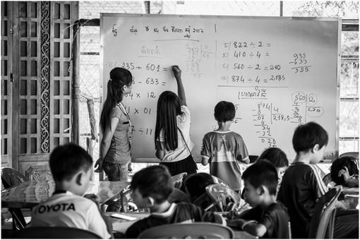 Cambodian classroom