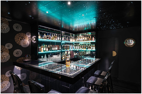 Private bar interior photography...