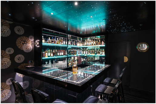 Private bar interior photography...