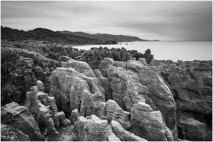 Pancake rocks, Westland New Zealand...